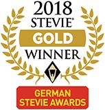 2018 German Stevie Gold Winner