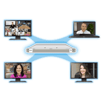 Lifesize's UVC Access - organize, define, control and manage your video conferencing traffic—voice, video and data.