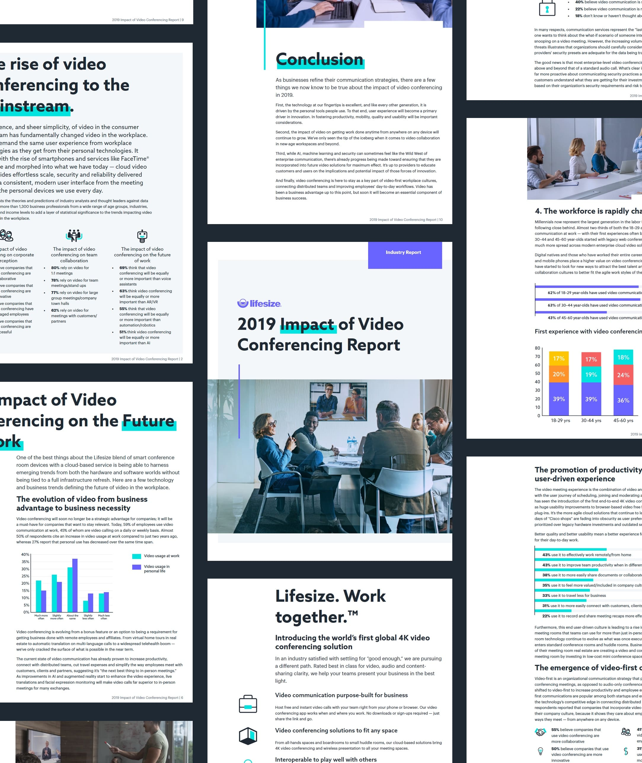 2019 Impact of Video Conferencing Report thumbnail