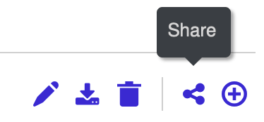 Lifesize app Share Icon shown