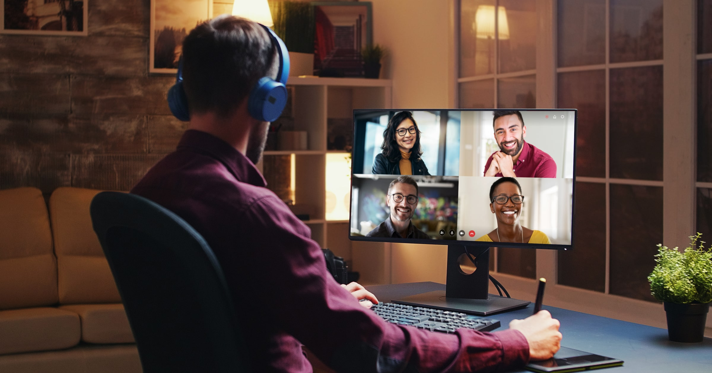 Secure Video Conferencing & Online Meetings [+Free Account]