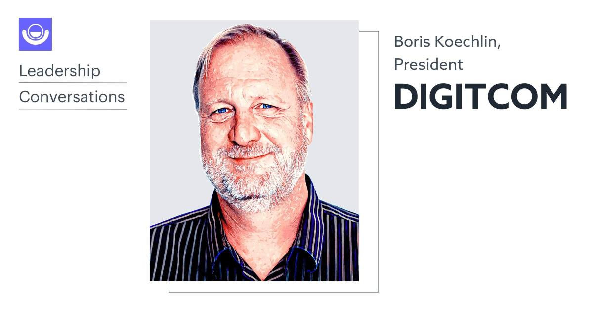 Headshot of Boris Koechlin, President of Digitcom