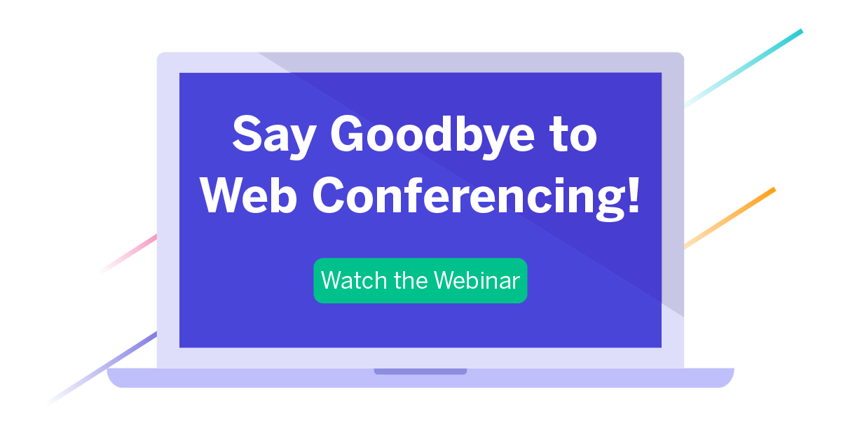 The audio- and web-only conference days are over. Join us as we talk about video conferencing vs. web conferencing.