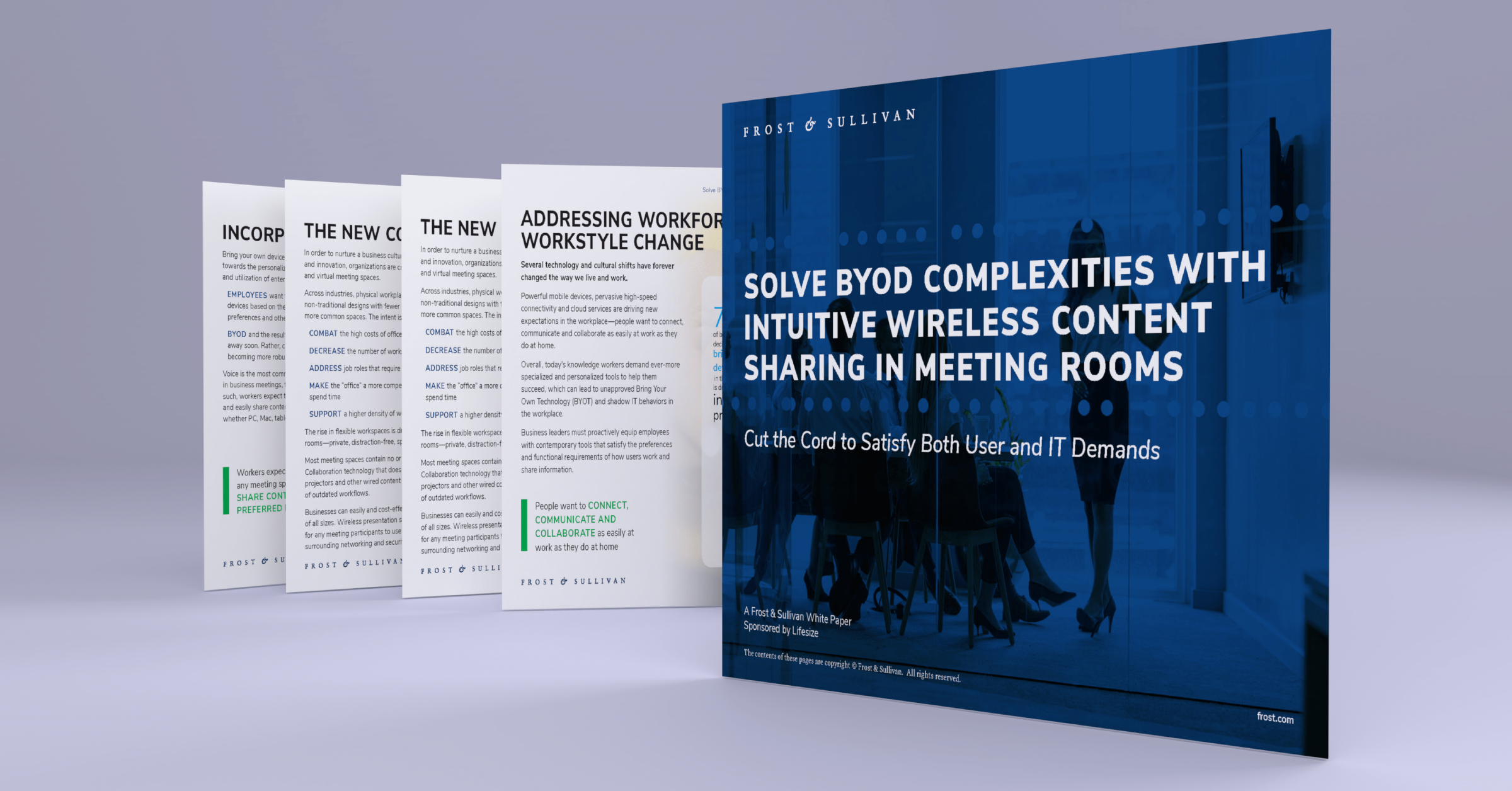 Learn how to choose future-proof investments that modernize your meeting rooms for the new connected workforce.