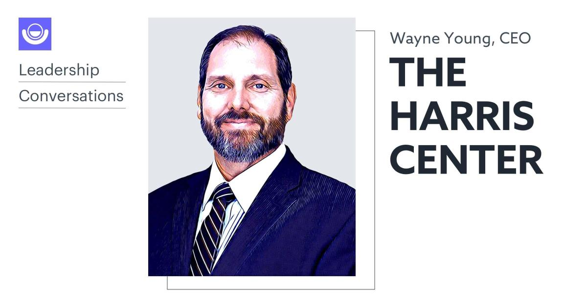 Headshot of Wayne Young, CEO of the Harris Center