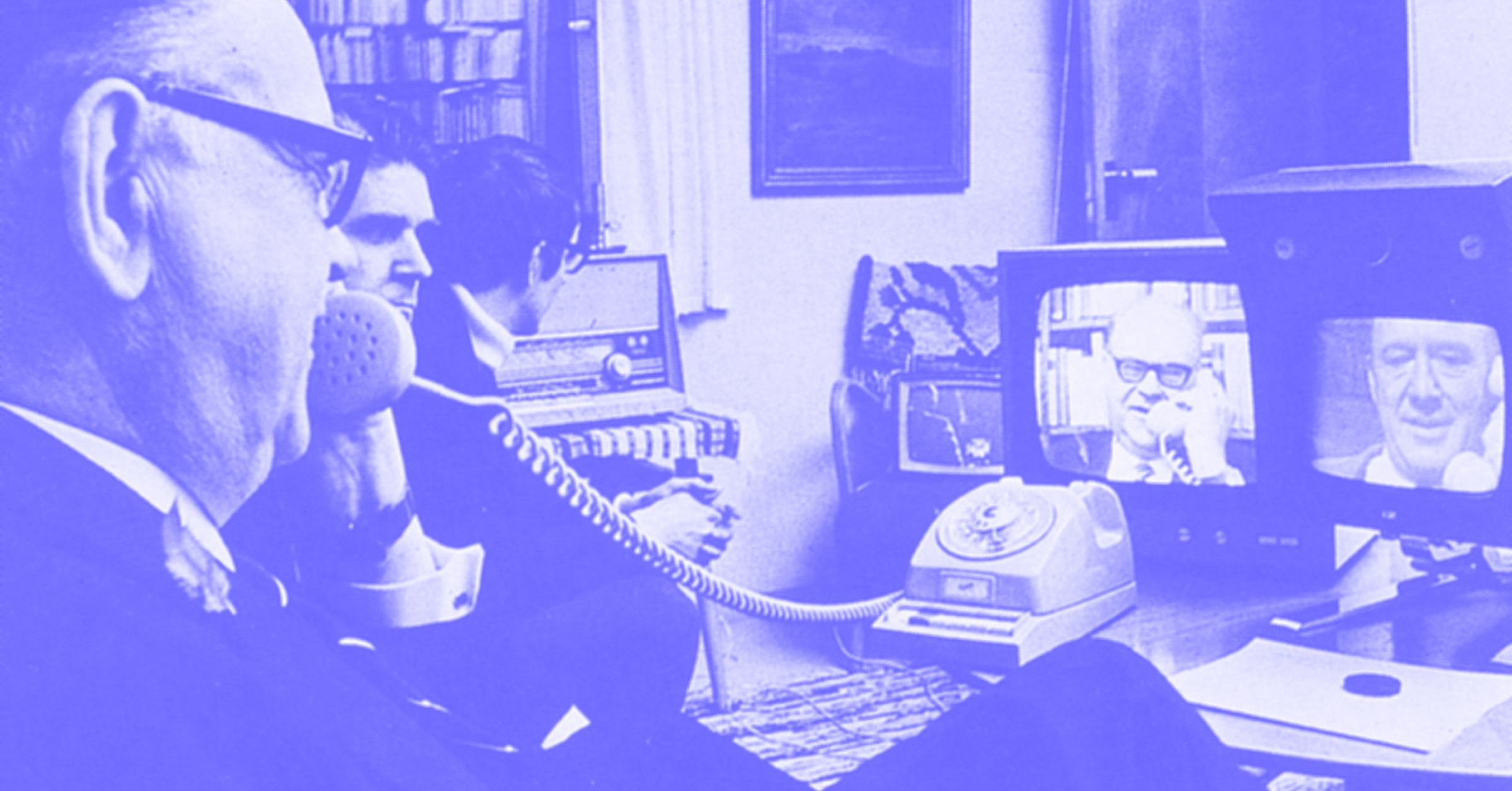Let's go back in time to the very beginning when video conferencing was first introduced as a faster, more efficient way to communicate, and how it has evolved throughout the years to today's modern meeting experience.