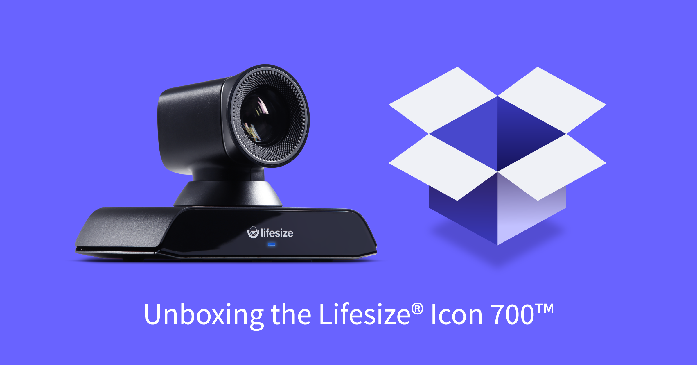 Unboxing the Lifesize Icon 700 4K video conferencing system