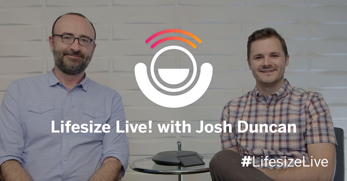 Join Lifesize Sr. Director of Product as he discusses how a world-class collaboration company effectively collaborates to achieve its business goals.