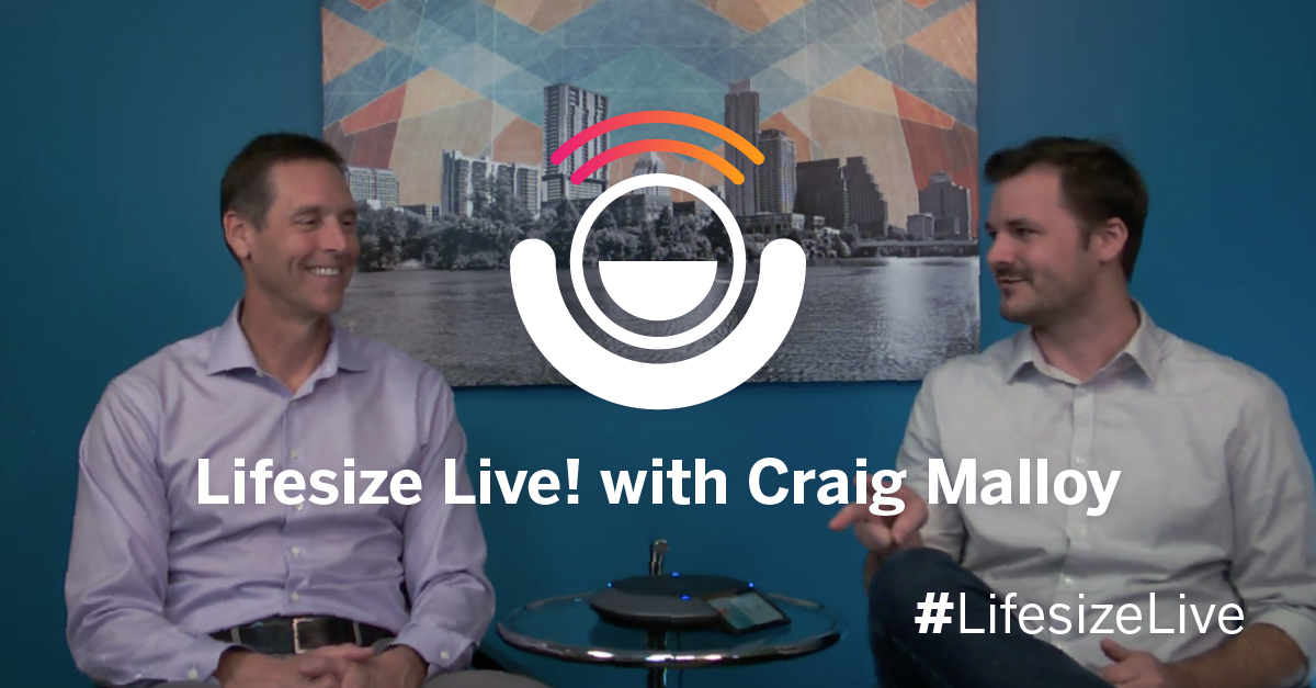 Watch father of five and Lifesize CEO Craig Malloy as he discusses the challenges and solutions in effectively leading a company without costing him family time.