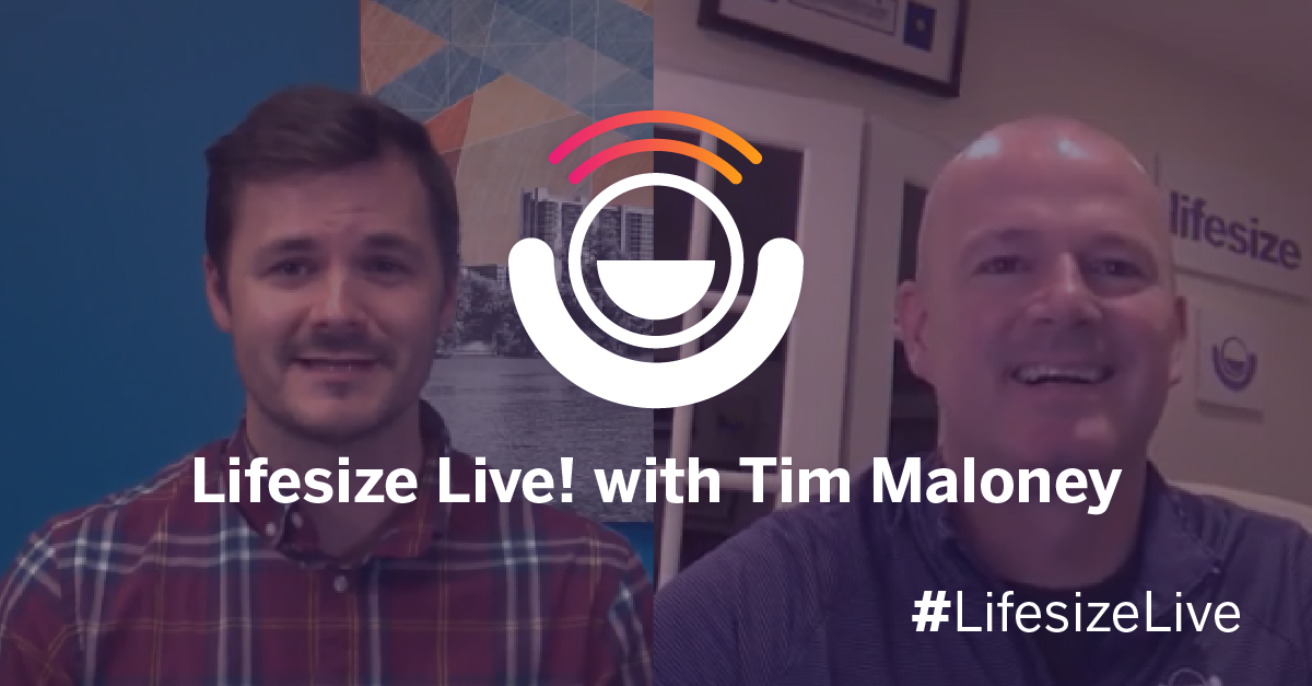 In this episode of Lifesize Live!, Lifesize Global Channel Sales VP Tim Maloney talks about how he manages his remote employees as a remote employee.