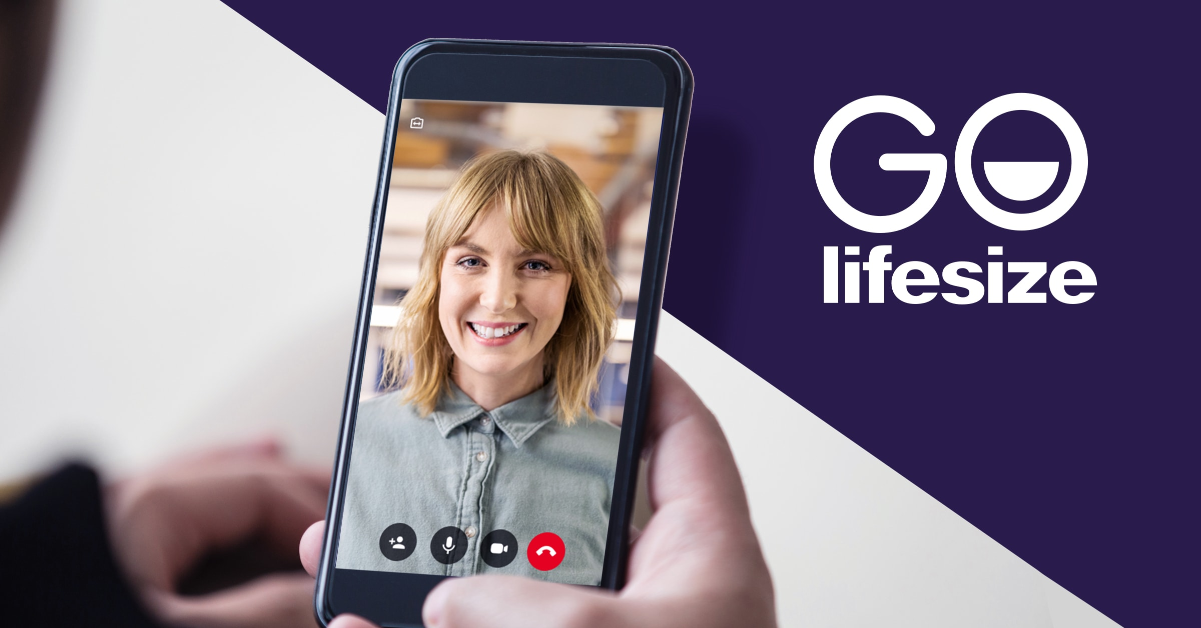 With Lifesize Go, it has never been easier to collaborate one-to-one or with small groups.
