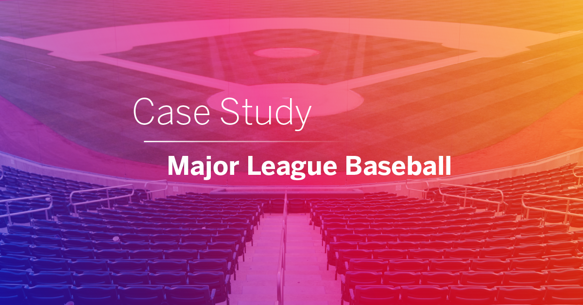Lifesize makes meeting easier at Major League Baseball.