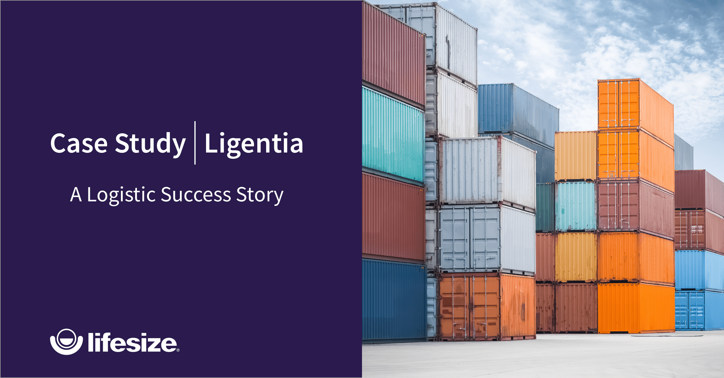 Learn how Ligentia implemented Lifesize to elevate their meetings via video technology.