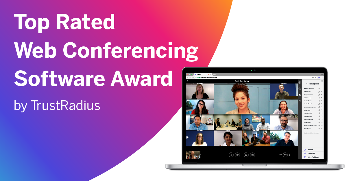 TrustRadius has awarded Lifesize as a 2018 Top-Rated Web Conferencing Software.