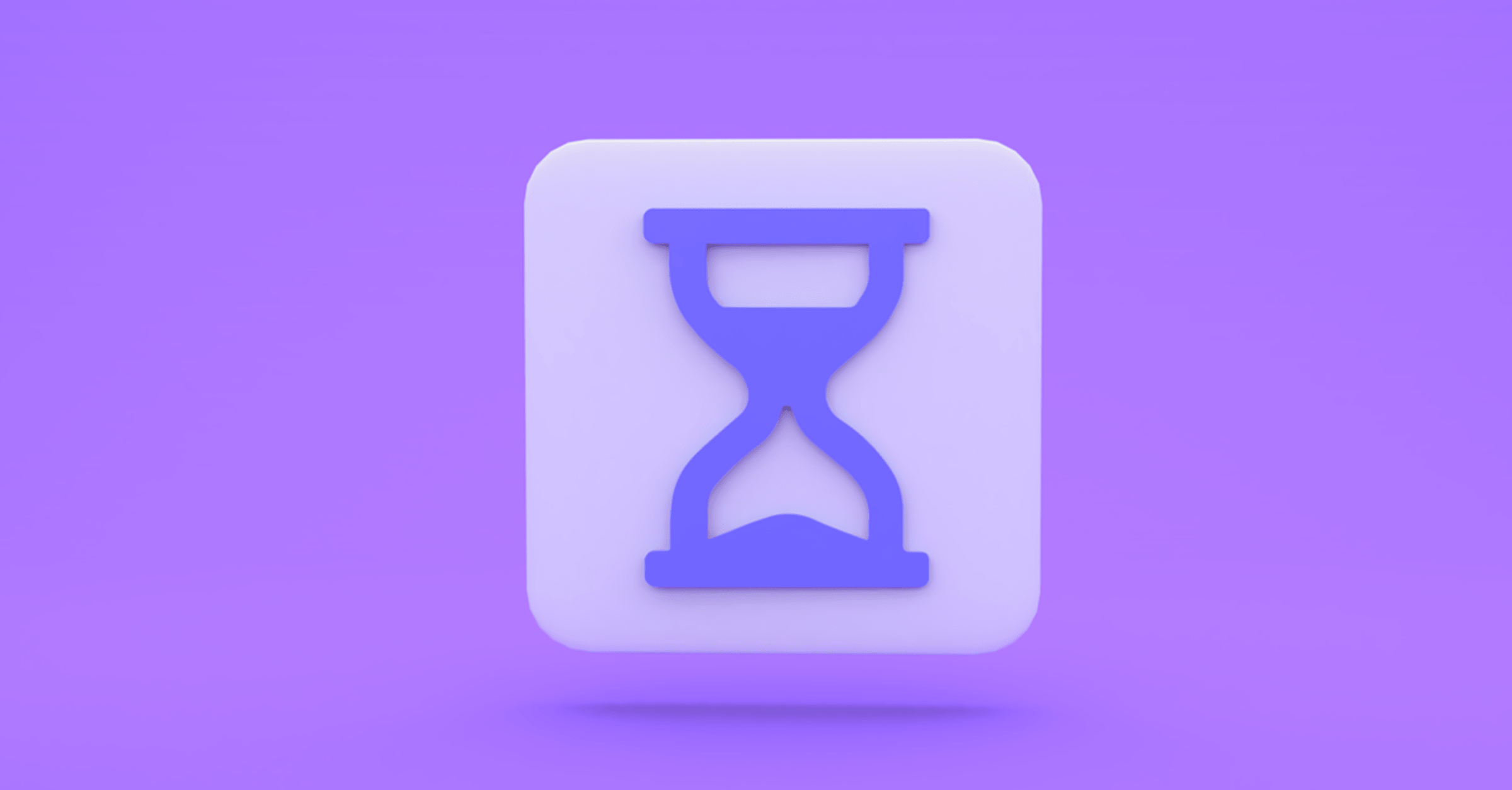 one time meetings icon hourglass