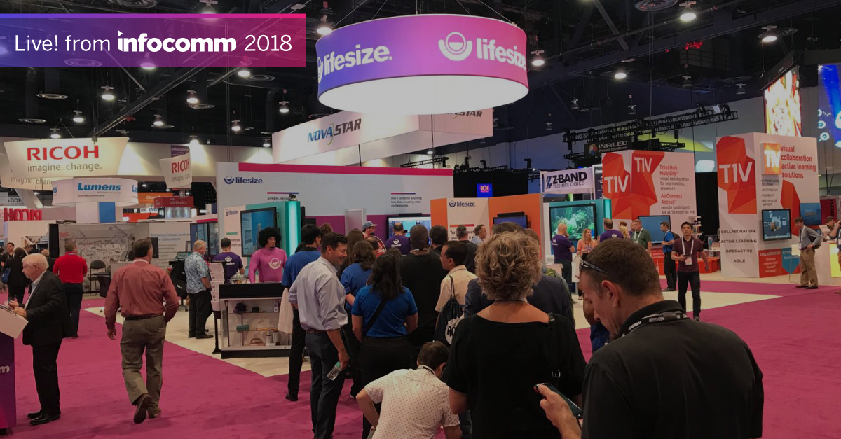 Lifesize at InfoComm 2018