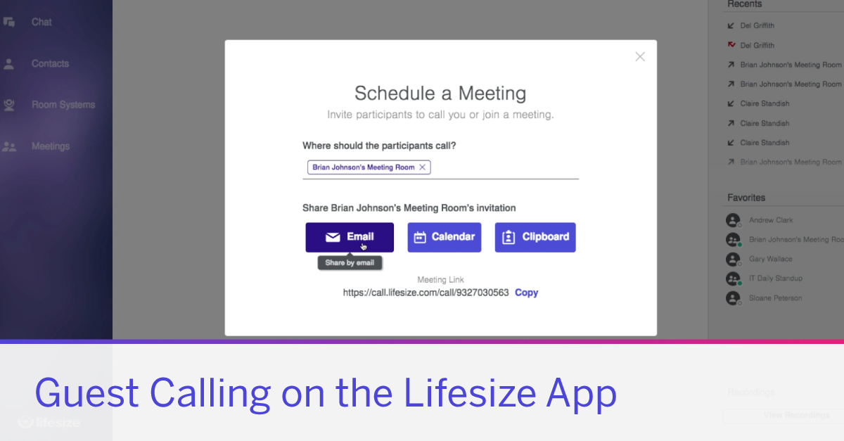 An intuitive guest calling experience is an important part of the workflow for any collaboration solution. Learn how Lifesize makes the guest experience incredibly easy.