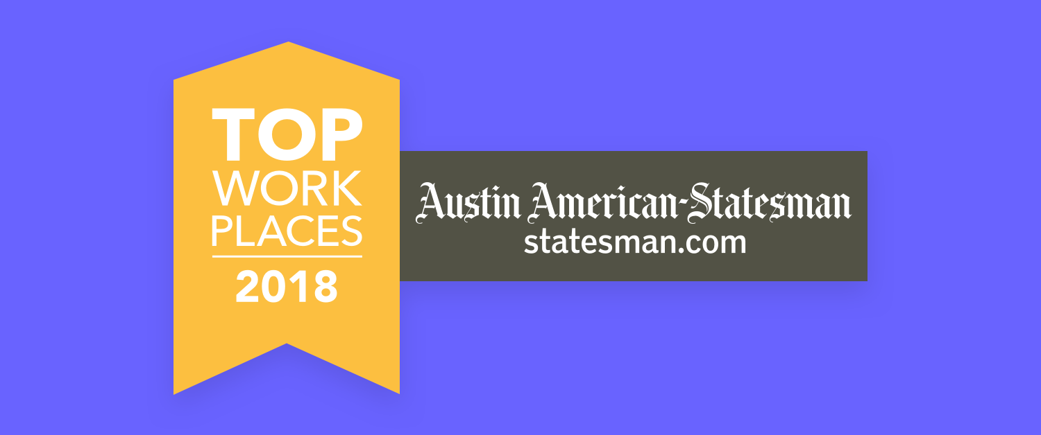 Lifesize has been named a winner of the Top Workplaces Award by the Austin American-Statesman for a third year!