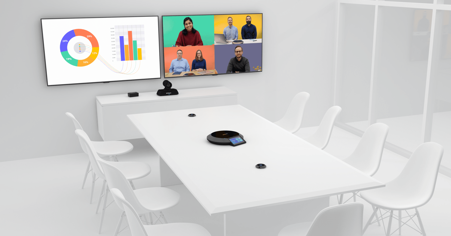 Video conference room with Lifesize equipment