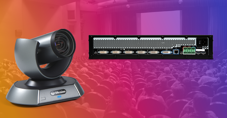 With multiple video inputs and outputs, audio flexibility and a design built around larger events, the Lifesize Icon 800 is the perfect fit for the auditorium-sized meeting.