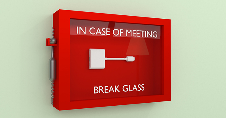 Lifesize Share reduces meeting room dongle clutter and gives everyone in the meeting room the ability to wirelessly share their screen and media.