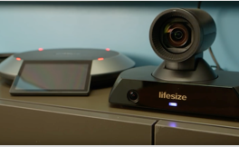 Lifesize Icon 450 video conferencing camera unboxing and setup.