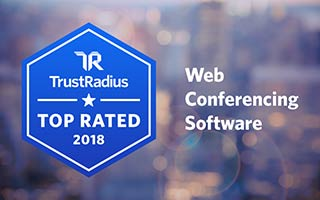 2018 Trust Radius - Top Rated Web Conferencing Software