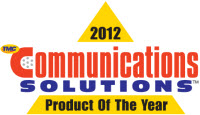 2012 Communications Solutions Product of the Year TMC